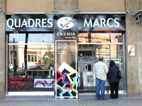 Casmir tienda y taller fabricante en barcelona de marcos y molduras para la enmarcacion - Espejos a medida barcelona ...
